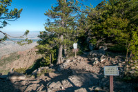 Start of La Luz Trail