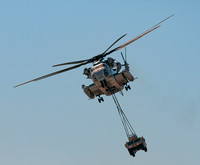 Marine Helicopter Transport of Vehicle