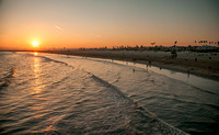 Seal Beach Pier Sunset #2
